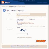 blogger beri nama