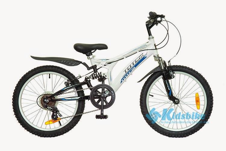 Xe đạp Totem 1140 màu trắng