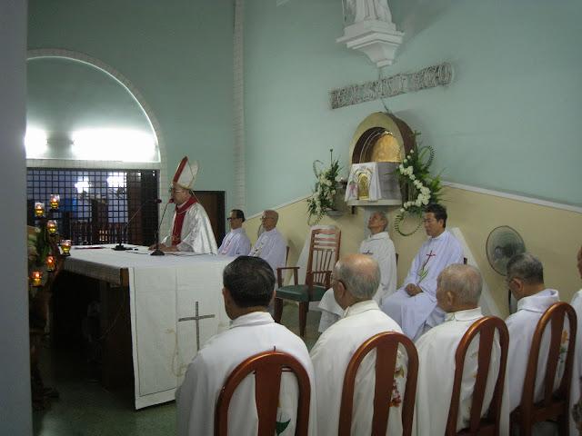 Thánh Lễ Mừng Kính Thánh Têrêxa Hài Đồng Giêsu tại Đan Viện Carmel Nha Trang.