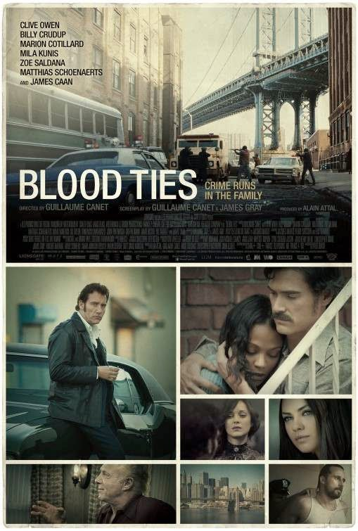 Poster Of English Movie Blood Ties (2013) Free Download Full New Hollywood Movie Watch Online At Alldownloads4u.Com