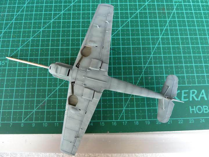 "Messerschmmit Bf 109 E-3 - Major Hans ""Assi"" Hahn P1030987"