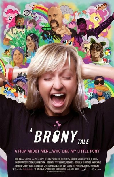 Poster Of English Movie A Brony Tale (2014) Free Download Full New Hollywood Movie Watch Online At Alldownloads4u.Com