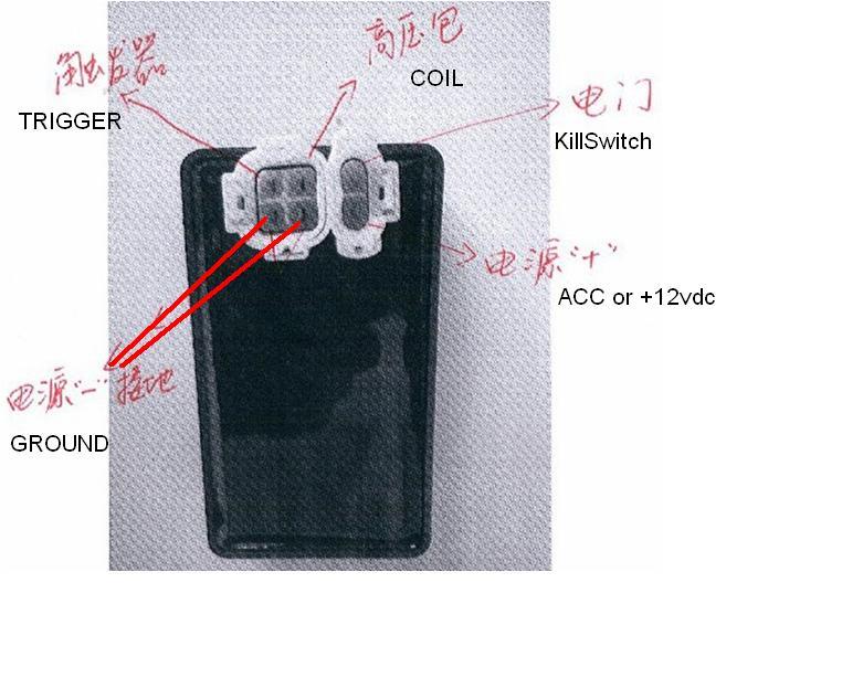 xr200 cdi to wave125 racing cdi pwede kaya?, Wiring diagram