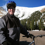 Jeff at the beginning of our ride
