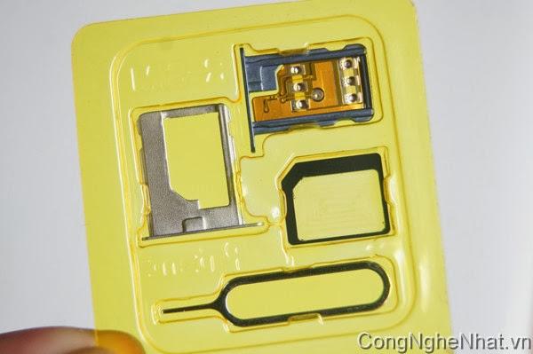 Sim ghép R-Sim8 unlock cho iphone 5/4S hỗ trợ IOS7