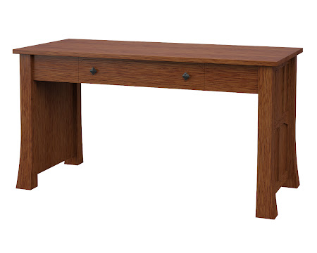 Edmonton Writing Desk in Washington Quarter Sawn Oak
