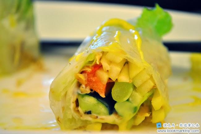 黑公雞風味餐廳蔬菜沙拉