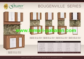 Gambar Kitchen Set Murah Bougenville