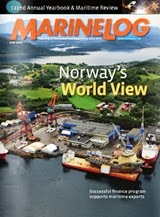 Marine Log magazine June 2013 cover