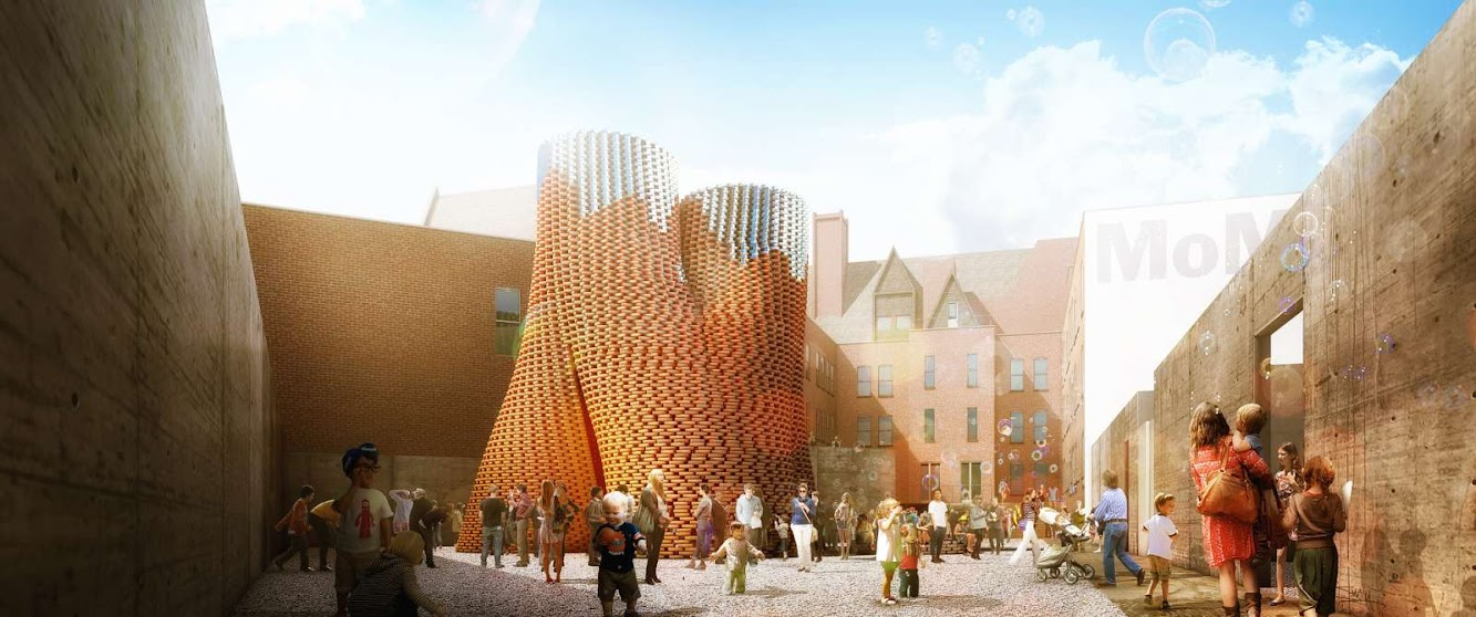 New York, Stati Uniti: The Living Wins Young Architects Program 2014