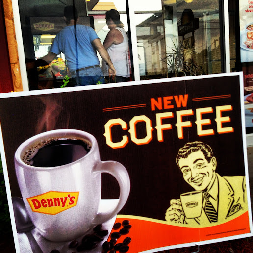 Denny's new coffee poster