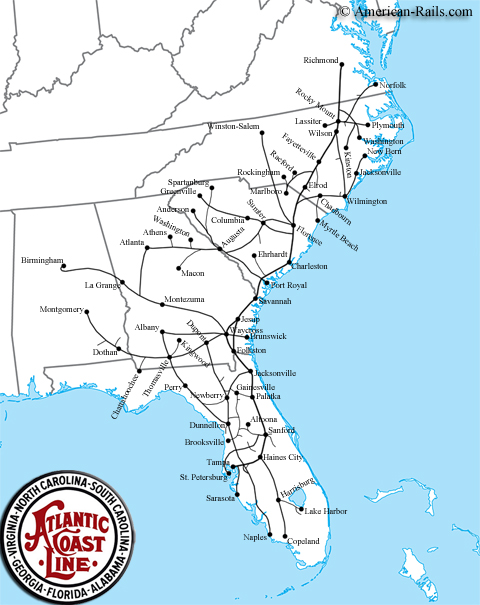 Industrial History: Atlantic Coast Line Railroad