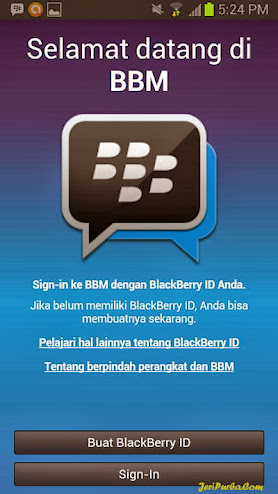 Tampilan BBM For Android 1.0.0.70