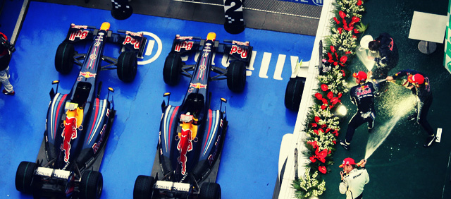 Red Bull consigue su primer doblete en China 2009
