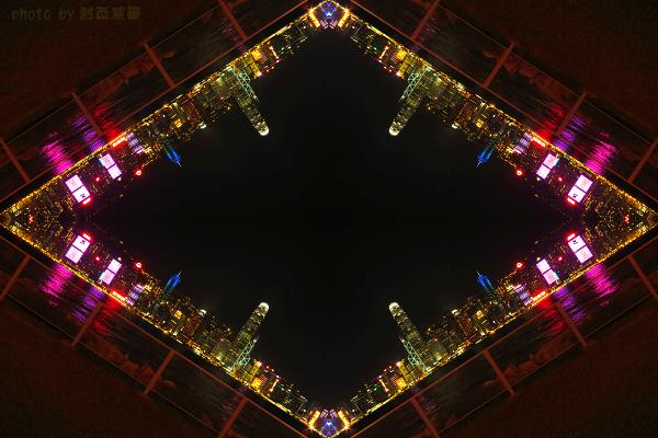 港澳跨年:維多利亞港夜景