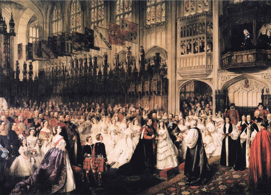 William Powell Frith - The Marriage of the Prince of Wales, 10 March 1863