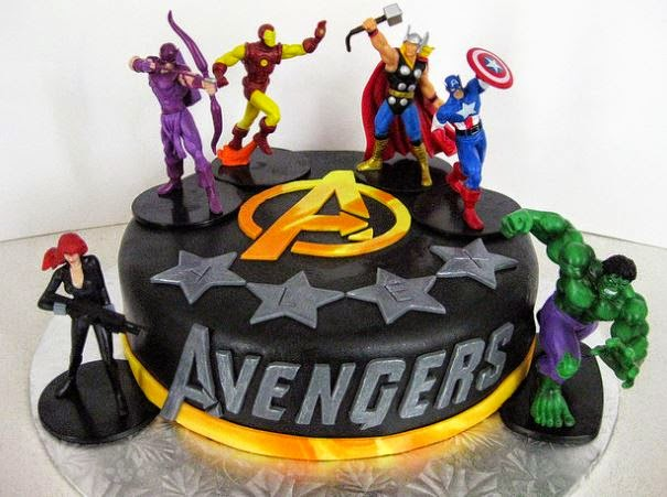 50 Best Avengers Birthday Cakes Ideas And Designs iBirthdayCake