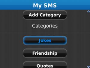 SMS Backup v1.2 BlackBerry
