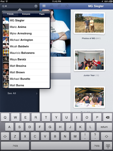 facebook, ipad, iphone, facebook app for ipad, apps,facebook app, social media