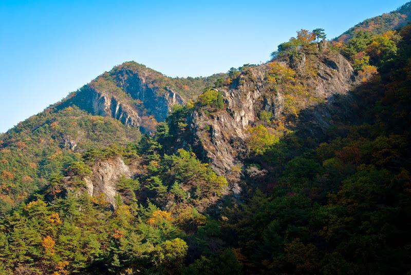 Korea, hike w Parku Gumi