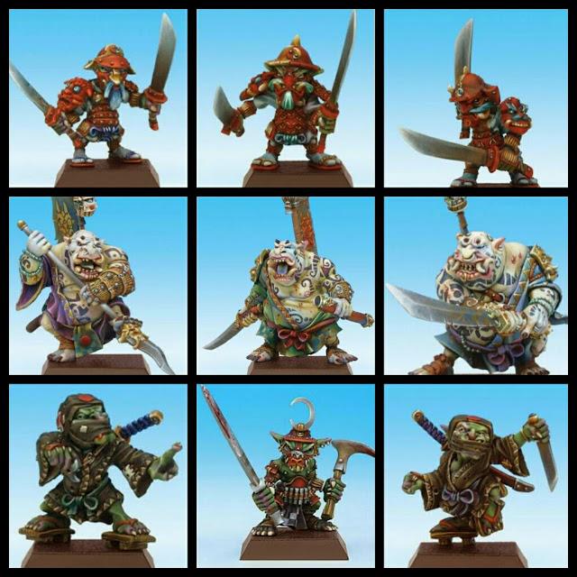 Goblins Japoneses Rackham