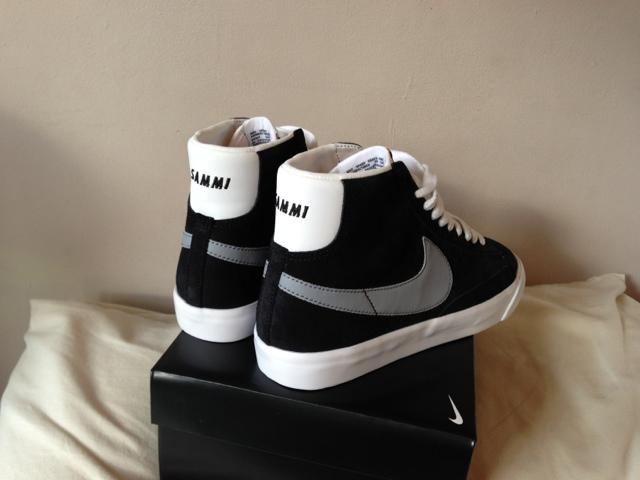 Personalised Nike Blazers