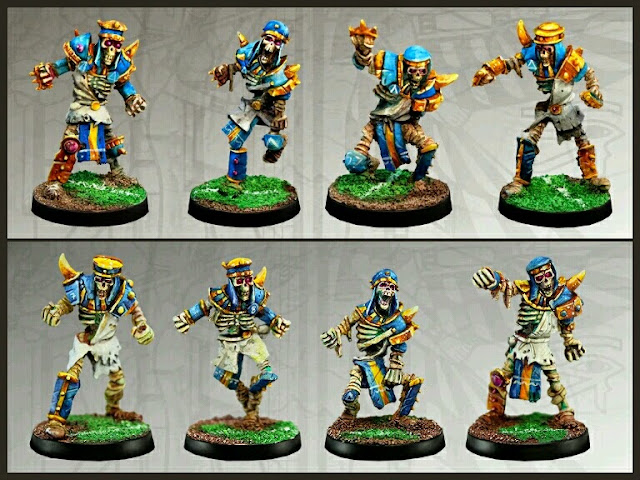 Esqueletos Khemri Willy miniatures