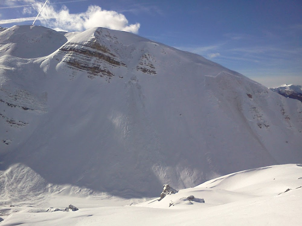 Avalanche Parpaillon, secteur Crachet, Vallon du Crachet depuis La Chalp - Photo 1 - © Joubert Nicolas