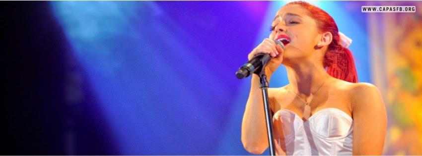 Capas para Facebook Ariana Grande