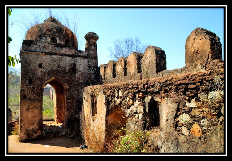 Top of Nagpuri Gate - New Palamu Fort