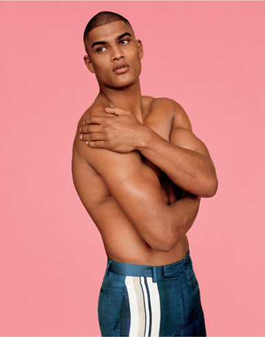 Rob Evans @ Storm/Major by Alasdair McLellan for i-D Winter 2011.  Styled by Elgar Johnson.