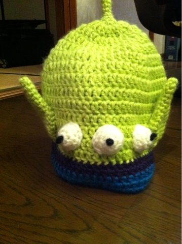 The Sugar Fairy Toy Story Alien Hat