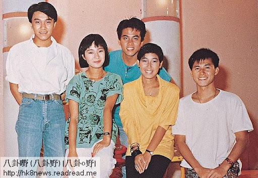 周星馳、譚玉瑛、龍炳基、黎芷珊和張國強,兒童節目的美好年代。