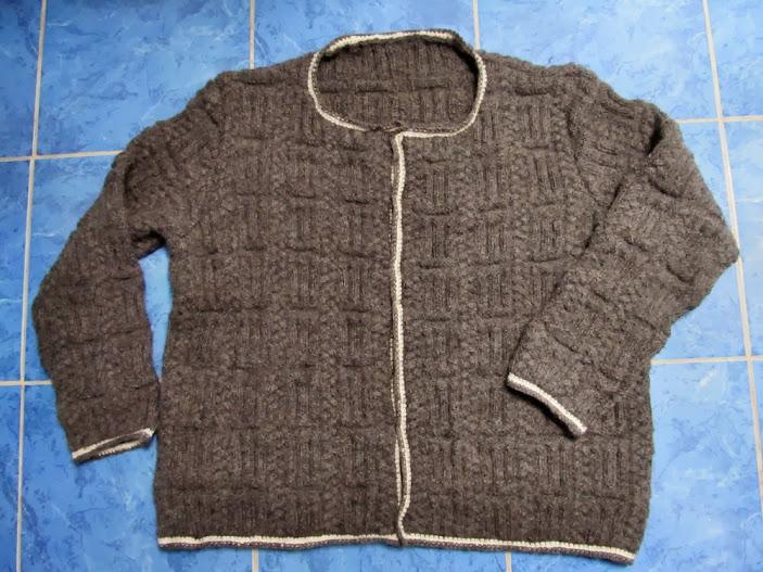 Knitter-Jacke