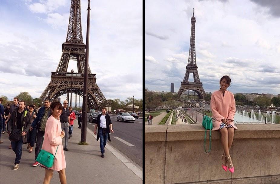 Kathryn Bernardo, Paris Vacation 02