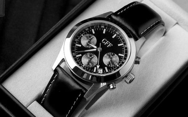 Часы наручные мужские Хронограф GFF