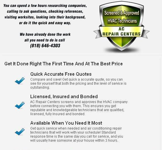 Air Conditioning Repair Woodland Hills