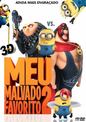 Filme Poster Meu Malvado Favorito 2 HDTS XviD & RMVB Dublado