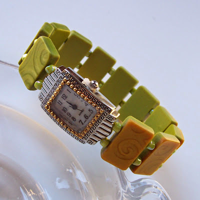 Tile Watch Band by 2GoodClaymates