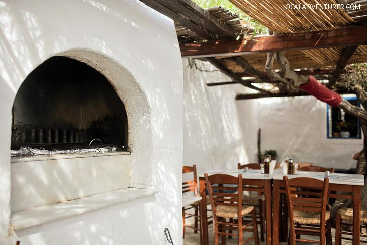 Kiki's Mykonos Greece.