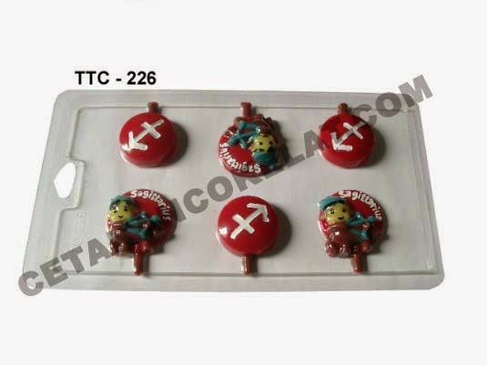 Cetakan Coklat TTC226 Zodiac Sagitarius