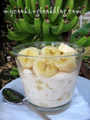 Бананов крем
