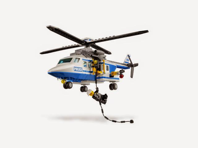 3658 レゴ シティ警察 ポリスヘリコプター