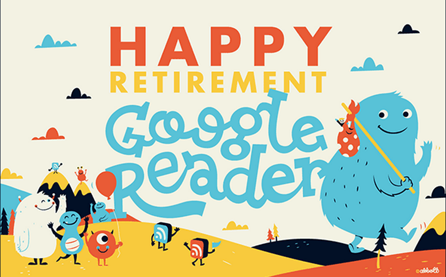 Adios Google Reader