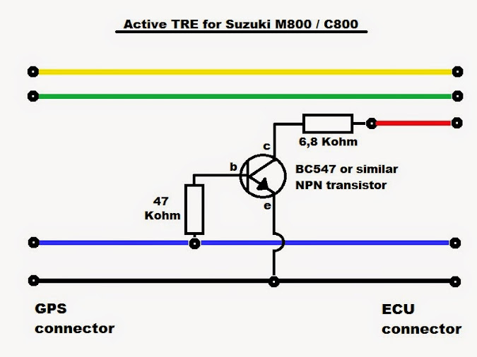 DIY Active TRE installation. TRE_schematic