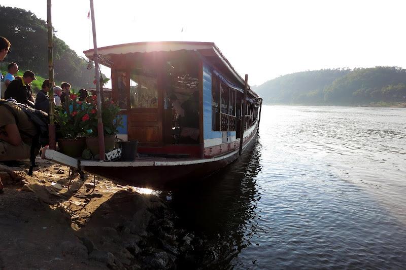Our pretty boat