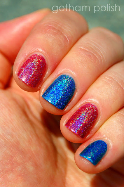 Cirque holo Vesuvius and Bejeweled