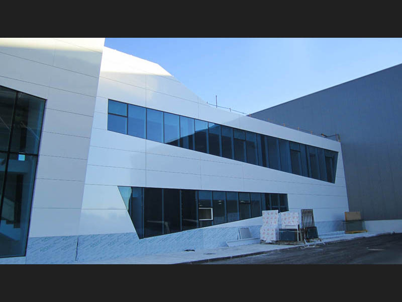 Obra edificio Aernnova (Airbus)
