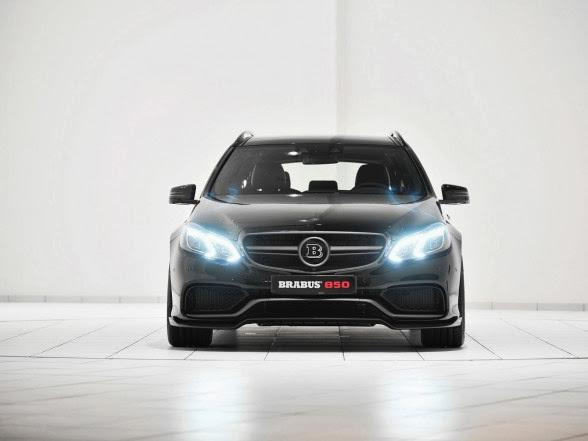 2014 Brabus Mercedes-Benz E63 AMG Wagon - Front
