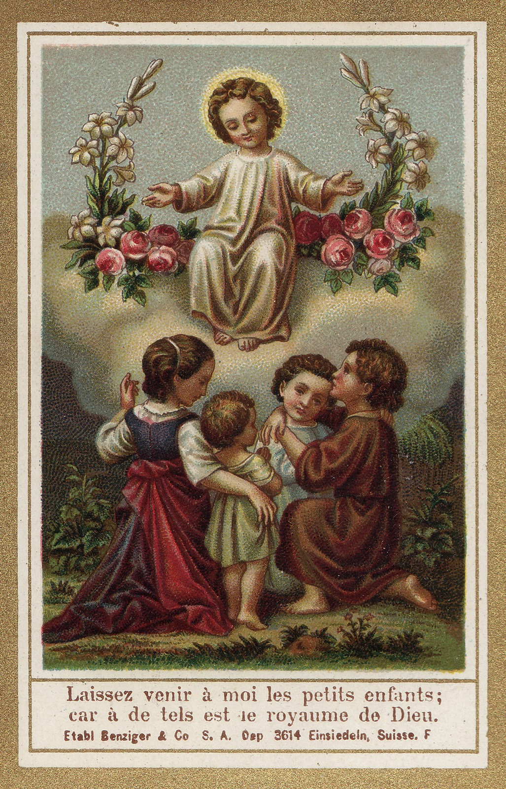 Holy Cards For Children God With Us
